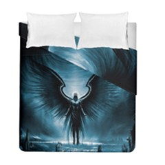 Rising Angel Fantasy Duvet Cover Double Side (full/ Double Size) by BangZart
