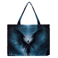 Rising Angel Fantasy Medium Zipper Tote Bag