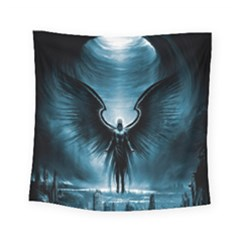 Rising Angel Fantasy Square Tapestry (small)