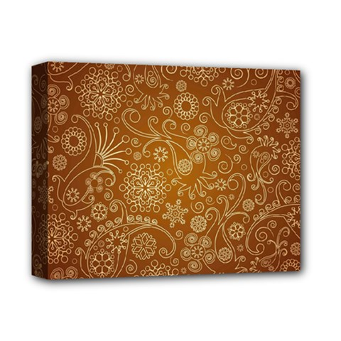 Batik Art Pattern Deluxe Canvas 14  X 11  by BangZart