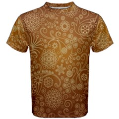Batik Art Pattern Men s Cotton Tee