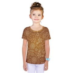 Batik Art Pattern Kids  One Piece Tee