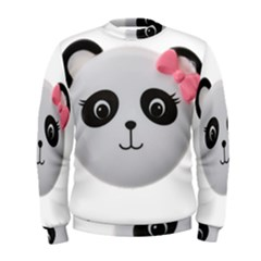 Pretty Cute Panda Men s Sweatshirt