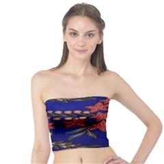 Batik  Fabric Tube Top