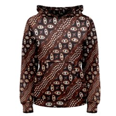 Art Traditional Batik Pattern Women s Pullover Hoodie