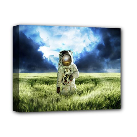 Astronaut Deluxe Canvas 14  X 11  by BangZart