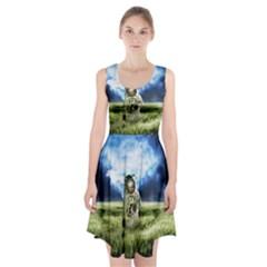 Astronaut Racerback Midi Dress