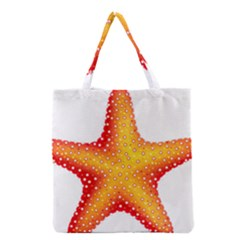 Starfish Grocery Tote Bag