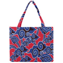 Batik Background Vector Mini Tote Bag by BangZart