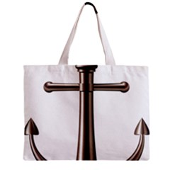 Anchor Zipper Mini Tote Bag by BangZart