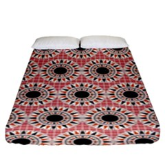 Black Stars Pattern Fitted Sheet (king Size) by linceazul