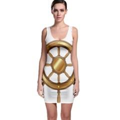 Boat Wheel Transparent Clip Art Bodycon Dress