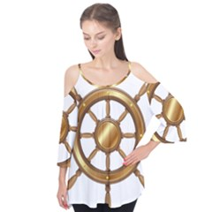 Boat Wheel Transparent Clip Art Flutter Tees