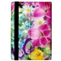 Colorful Flowers Patterns iPad Mini 2 Flip Cases View4