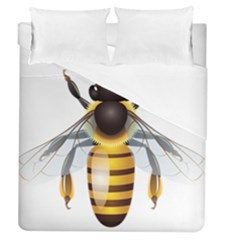 Bee Duvet Cover (queen Size) by BangZart