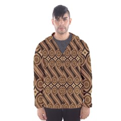 Batik The Traditional Fabric Hooded Wind Breaker (men)