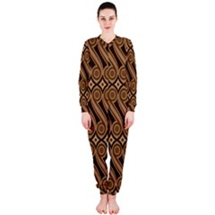 Batik The Traditional Fabric Onepiece Jumpsuit (ladies)