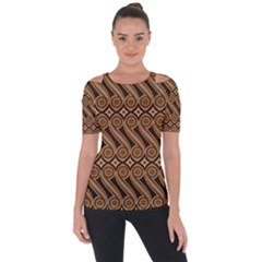 Batik The Traditional Fabric Short Sleeve Top