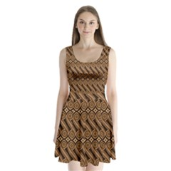 Batik The Traditional Fabric Split Back Mini Dress