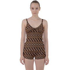 Batik The Traditional Fabric Tie Front Two Piece Tankini