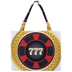 Casino Chip Clip Art Mini Tote Bag by BangZart