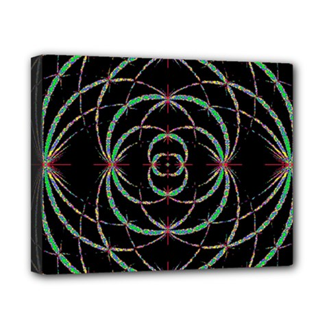 Abstract Spider Web Canvas 10  X 8