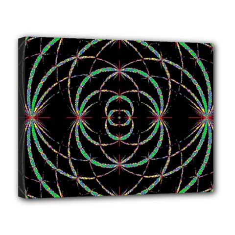 Abstract Spider Web Canvas 14  X 11  by BangZart