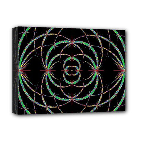 Abstract Spider Web Deluxe Canvas 16  X 12   by BangZart