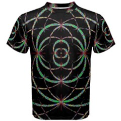 Abstract Spider Web Men s Cotton Tee