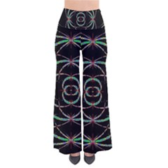 Abstract Spider Web Pants