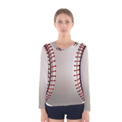 Baseball Women s Long Sleeve Tee