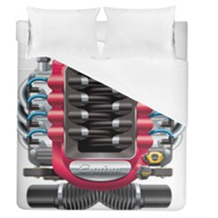 Car Engine Duvet Cover (queen Size) by BangZart