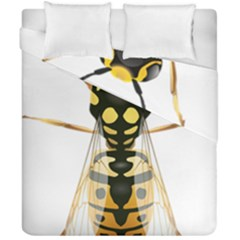 Wasp Duvet Cover Double Side (california King Size)
