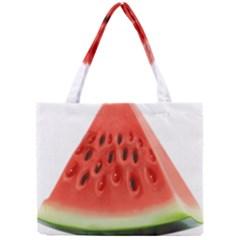 Piece Of Watermelon Mini Tote Bag by BangZart