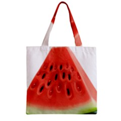 Piece Of Watermelon Zipper Grocery Tote Bag