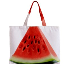 Piece Of Watermelon Zipper Mini Tote Bag