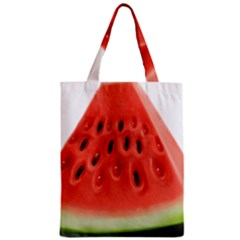 Piece Of Watermelon Zipper Classic Tote Bag