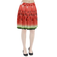 Piece Of Watermelon Pleated Skirt