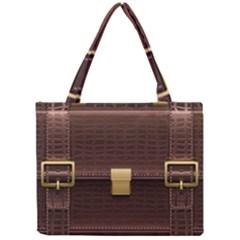 Brown Bag Mini Tote Bag