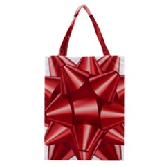 Red Bow Classic Tote Bag