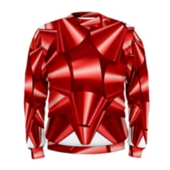 Red Bow Men s Sweatshirt