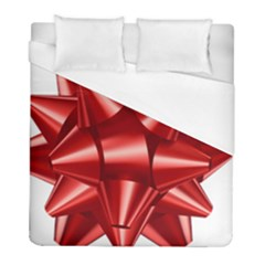 Red Bow Duvet Cover (full/ Double Size) by BangZart