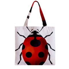 Ladybug Insects Grocery Tote Bag by BangZart