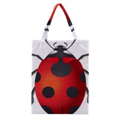 Ladybug Insects Classic Tote Bag by BangZart