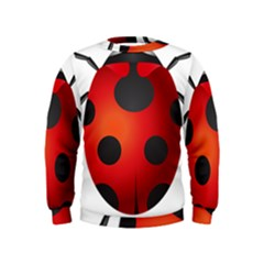 Ladybug Insects Kids  Sweatshirt