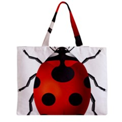 Ladybug Insects Medium Tote Bag