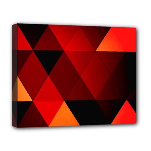 Abstract Triangle Wallpaper Deluxe Canvas 20  X 16