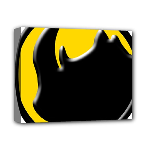Black Rhino Logo Deluxe Canvas 14  X 11  by BangZart