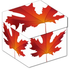 Autumn Maple Leaf Clip Art Storage Stool 12   by BangZart