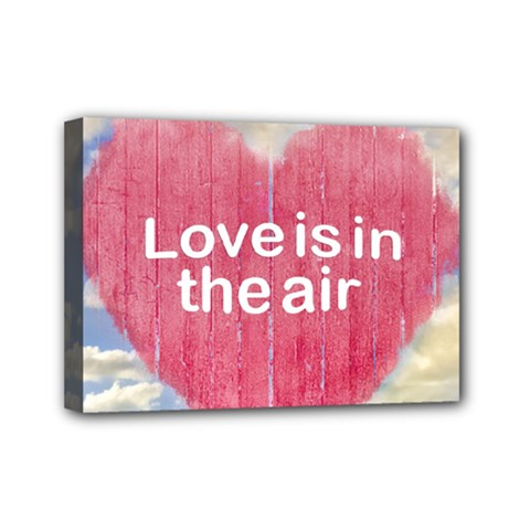 Love Concept Poster Design Mini Canvas 7  X 5  by dflcprints